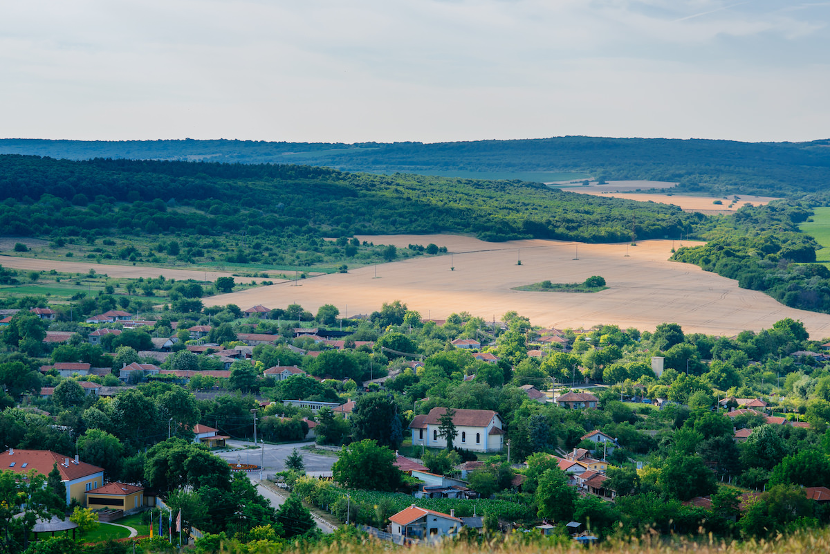 land view of Bulgaria