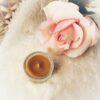 beeswax tea light