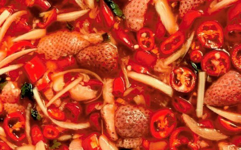 waste not strawberry chilli sauce